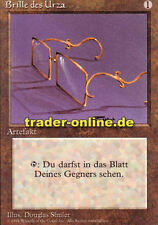 Brille des Urza (Glasses of Urza) Magic limited black bordered german beta fbb f
