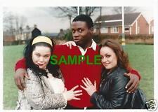 ORIGINAL YORKSHIRE TV PHOTO EMMERDALE LISA RILEY JACQUELINE PIRIE MARTIN OFFIAH
