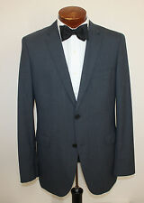 Hugo Boss Eagle 6 / Shell 2 Pc Suit 2 Button Flat Front Pants Grey Size 42 L