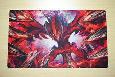 FREE TUBE Yugioh Playmat Play Mat Large Mouse Pad Pokemon #021