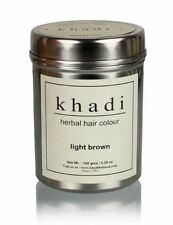 Khadi Natural Herbal Light Brown Henna Hair Color Unique Formulation 150 GM
