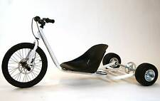 New Gas Powered Drift Trike Chassis. Pearl White
