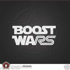 (1472) Boost Wars Sticker Aufkleber Ford Fiesta Focus RS Turbo Star Wars JDM VAG