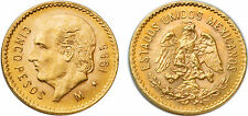 Mexico 1955 5 Pesos Gold Coin