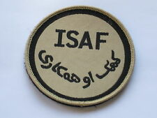 ISAF,International Security Assistance Force,khaki,TRF, mit Klett/Velcro
