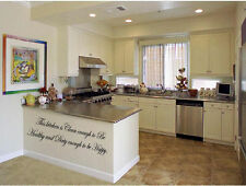 This kitchen is clean enough to be healthy dirty happy Vinyl Wall Decal Decor