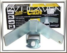 TRAILER CARAVAN BOAT COUPLING COUPLE MATE self aligning coupling TOW ball hitch