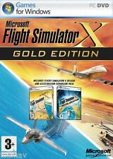 Microsoft Flight Simulator X Gold Edition FSX (Original PC Games) New in Box