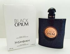 BLACK OPIUM YSL YVES SAINT LAURENT EAU DE PARFUM 3.0 3 FL OZ. e90 ml PERFUME NEW