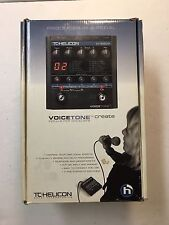 TC Helicon Electronic Voicetone Create Vocal Rare Multi Effects Processor Pedal