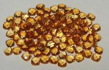 4mm Beautiful Brazil Gold Citrine Briolette Square Cushion Cut