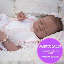 Sweet little Molly baby kit ~ ready to paint your own reborn doll~ reborn kit