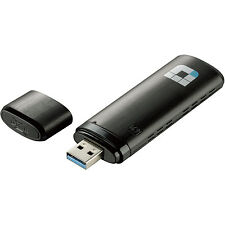 D-Link 802.11ac Dual-Band Wireless-AC1200 SuperSpeed USB 3.0 Adapter - DWA-182RE