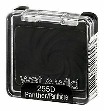 Wet-n-Wild MATTE JET BLACK Pressed EYESHADOW/ DRAG QUEEN/ 255C/255D - PANTHER