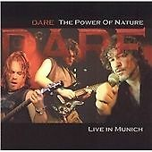 DARE-THE POWER OF NATURE/LIVE IN MUNICH-CD aor thin lizzy)