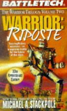 NEW Battletech: Warrior: Riposte (FAS5718) by Michael Stackpole