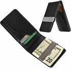 1X Men Silver Aluminum Mini Credit Card Coin Holder Multifunction Money Clip