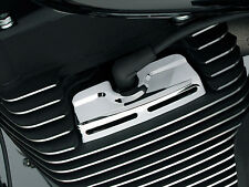 Kuryakyn 8323 Chrome Scorpion Spark Plug-Head Bolt Covers for Harley Twin Cam