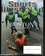 2013 Sports Illustrated Boston Marathon Bombing Patriots' Day Subscription Iss.