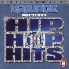 THE SOURCE Presents Hip Hop Hits Volume 10 (CD 2005) Edited Clean 16 SONGS RAP