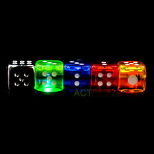 New Cool Fashion Dice Shaped Refillable Butane Gas Flame Cigarette Cigar Lighter