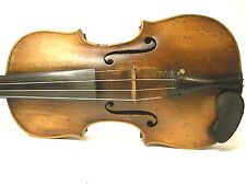German Hopf Violin, 19thCentury, 35.3 c length of back, owned by Vince Foeller