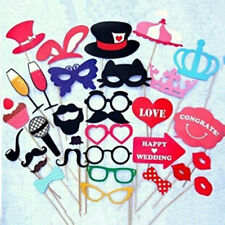 Funny Party DIY Masks Photo Booth Props Mustache On A Stick Wedding Party Favor