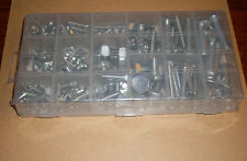 Schrauben und Muttern-Sortiment 240 Teile - Sechskantschrauben + Federringe Neu