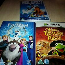 Walt Disney's Frozen Classic  52 Ice age 4 & The Muppet  treasure Island