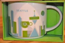 Starbucks Seattle You Are Here Coffee Mug Cup YAH Collection NEW