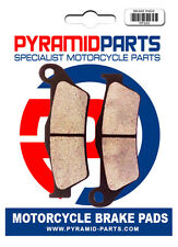 Pyramid Parts Front brake pads for: Vectrix Electric Std Scooter 07-08