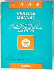 1995 New Yorker LHS Concorde Intrepid Vision Factory Service Manual Shop Repair