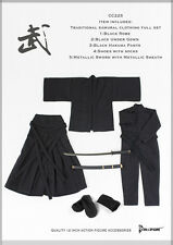1/6 Dollsfigure CC225 Japanese Traditional Samurai Clothing Full Set with Sword