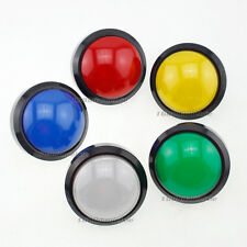 "Semicircle Top 100mm LED Illuminated Button For Arcade Pop'n Music ""Convertible"""