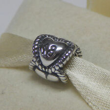 New Authentic Pandora Charm 791047 18th Birthday Holiday Box Included