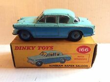 Dinky Sunbeam Rapier Saloon 166 Boxed