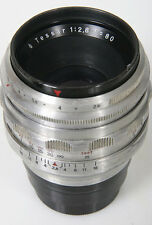 Zeiss Tessar 80mm f/2.8 lens - Exakta Mount
