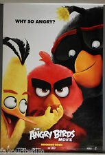 Cinema Poster: ANGRY BIRDS MOVIE 2016 (Angry One Sheet) Danny McBride Sean Penn