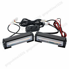 20W COB LED Traffic Advisor Flash Strobe Work Light Bar Warning High Power Amber