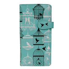 Vintage Bird Cage Pattern - Large Zipper Wallet - Shagwear - New