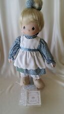 Precious Moments Hamilton Collection Porcelain Doll God Loveth A Cheerful Giver