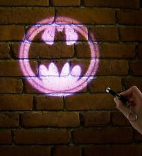 Batman Projector Torch Light, pocket sized keyring novelty gadget gift pp2629dc