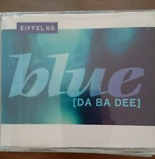 "Eiffel 65 ""Blue (Da Ba Dee)"" 6-Track German Maxi-CD 1999 Logic"