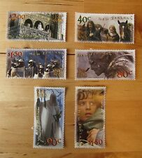 Lord Of The Rings NZ Stamp Set- Two Towers First Day Covers New Zealand Post