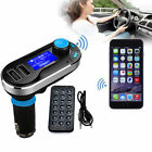 Silver 3-in-1 Wireless Bluetooth FM Transmitter MP3 Car Kit for iPhone 6 5S 5C