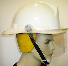 Vintage 1984 Bullard FH 2100 Structural Fire Fighter's Dome Hard Boiled Helmet