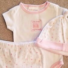 SWEET! BABY JUST ONE YEAR BY CARTER'S PREEMIE 3PC LITTLE MIRACLE OUTFIT REBORN