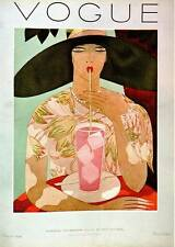 Vogue Magazine Fashion Book Print  'American Vogue  Aug. 1926..'