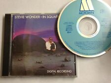 0035627200526 In Square Circle Erstauflage 1985 Made in Japan Stevie Wonder FAST