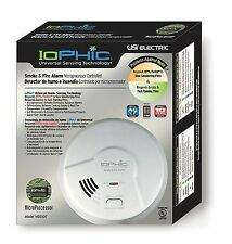 USI Electric Hardwired 2-in-1 Universal Smoke Sensing Smoke Alarm (MDS107) (I)